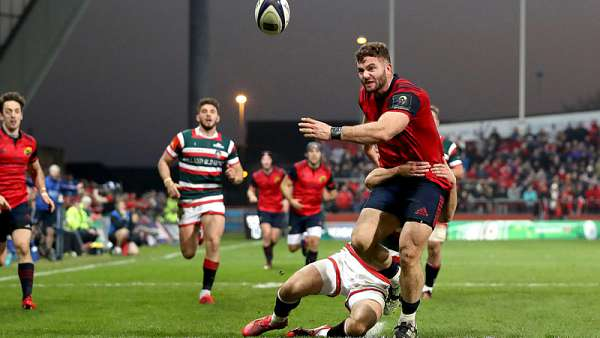 Munster 38-0 Leicester