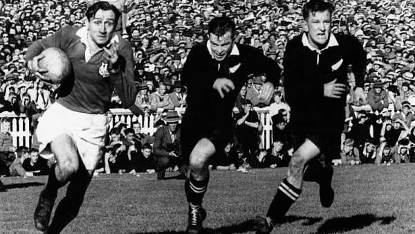 El tour de los British & Irish Lions en 1950