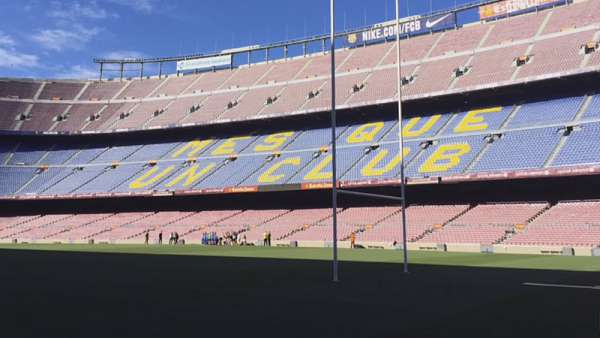 El Camp Nou se prepara para la final del Top 14